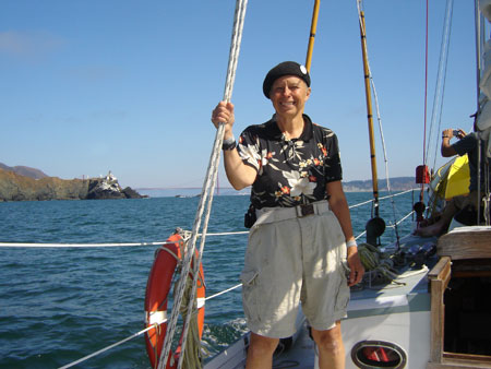 pat on foredeck